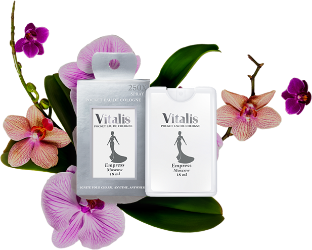 Vitalis Eau de Cologne Pocket Empress