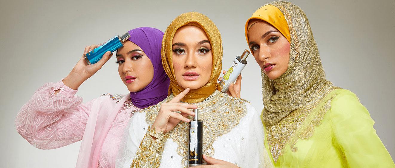 Tampil Percaya Diri dan Wangi Setiap Hari dengan Vitalis Eau De Glamour Hijab
