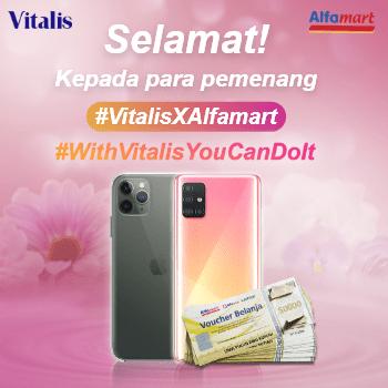 Pemenang #VitalisXAlfamart #WithVitalisYouCanDoIt